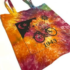 Tie Dye Canvas Tote Bags