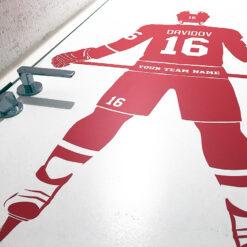 Hockey Wall Decal