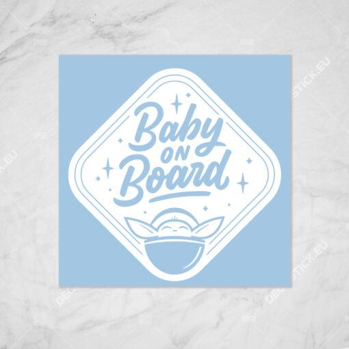 Baby Yoda on Board