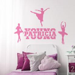 Ballerina Wall Decal