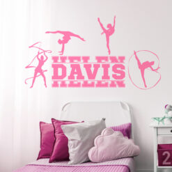 Gymnastics Wall Decal