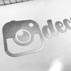 Instagram vinyl decals