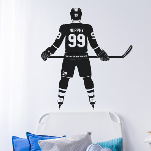 Hockey Wall Decal
