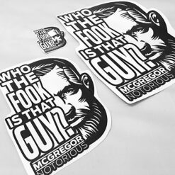Conor McGregor Vinyl Decal