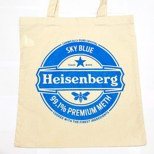 Heisenberg shopper bag