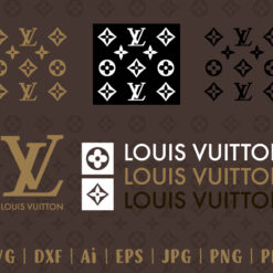 Louis Vuitton svg