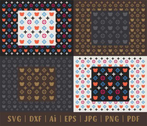 Luxury Bear Pattern