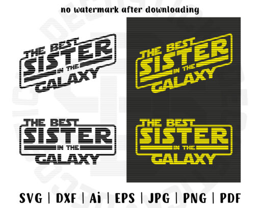 The best sister in the galaxy